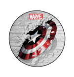 Marvel tapis Captain America Shield 80 cm
