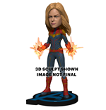 Figurine Sur Socle Avengers Endgame Captain Marvel Hk