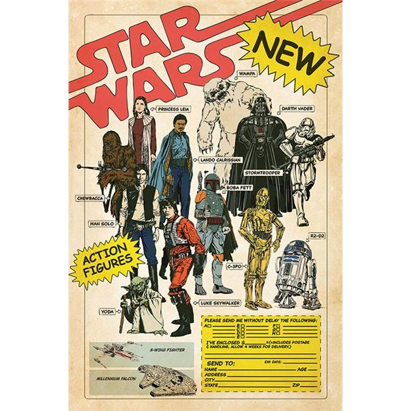 Poster Star Wars 393061