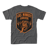 T-shirt Gas Monkey Garage SHIELD