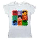 T-shirt One Direction pour Femmes: Photo Group