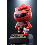 Hello Kitty figurine Diecast Chogokin Hello Kitty Char's Zaku II Ver. 11 cm