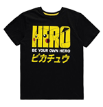 T-shirt pour Hommes POKEMON Olympics Pika Hero, Taille L