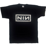 T-shirt Nine Inch Nails Unisexe: Classic Logo