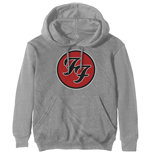 Sweat-shirt à Capuche Foo Fighters Unisexe: FF Logo
