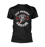 T-shirt Gas Monkey Garage RED HOT