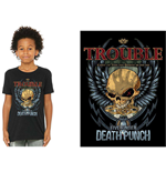 T-shirt Five Finger Death Punch  pour enfant - Design: Trouble