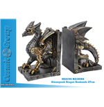 Serre-livres Steampunk Dragon Bookends