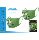 Masque RICK&MORTY Pickle Face COVER.MASK SET(2)