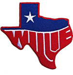 Patch Willie Nelson: Texas