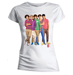 T-shirt One Direction pour femme - Design: Group Standing Colour