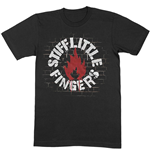 T-shirt Stiff Little Fingers unisexe - Design: Wall