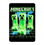 Couverture Polaire Minecraft Creeper Digital