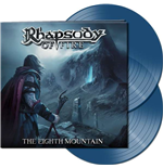 Vinyle Rhapsody Of Fire - The Eighth Mountain (Clear Blue Vinyl) (2 Lp)
