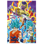 Poster Dragon Ball Z - God Super
