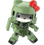 Kit Pour Maquette Sd Cross Silhouette Hello Kitty Zaku 2