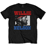 T-shirt Willie Nelson  unisexe - Design: Stare