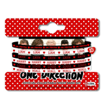 Set de Bracelets en Caoutchouc One Direction: Phase 3