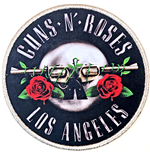 Patch Guns N'Roses - Design: Los Angeles Silver