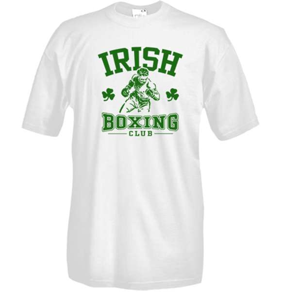 T-shirt Irish Boxing