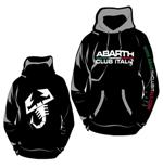 Sweat-shirt Abarth Club Italy, noir