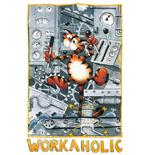 Poster Alex Workaholic