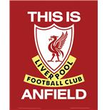 Poster Liverpool This is Anfield