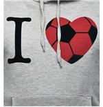 Sweat-shirt I Love Football