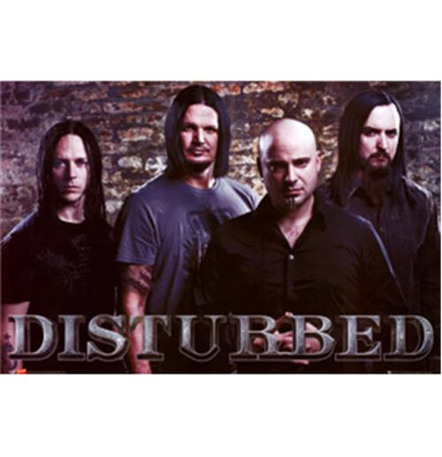Poster Groupe Disturbed