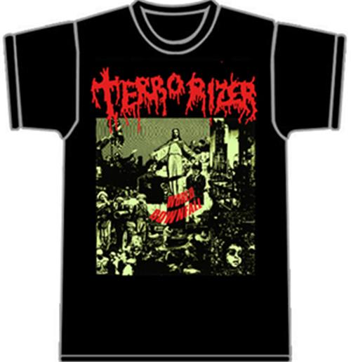 Tshirt Terrorizer-World Downfall