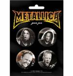 Pack Badge-Groupe Metallica