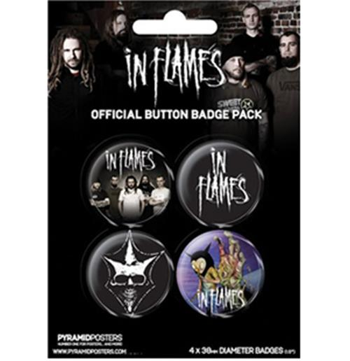 Pack Badge In Flames