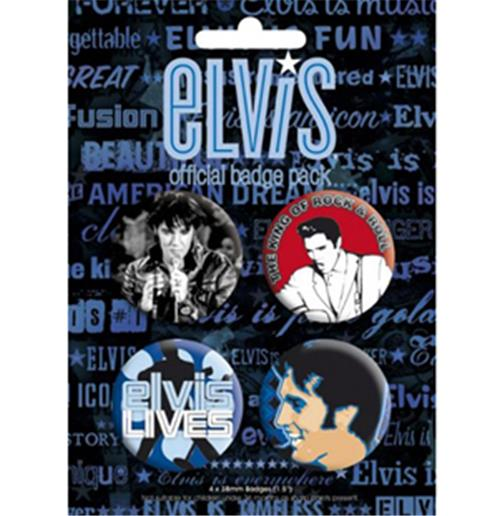 Badge Pack Elvis-The King