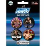 Pack Badge Wwe-Smack Down