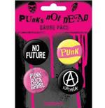 Pack Badge Punks Not Dead