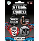 Pack Badge Wwe-Stone Cold