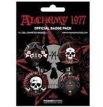 Pack Badge Alchemy Gothic-La Mort