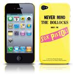 Etui iPhone 4G  - Never Mind Sex Pistols. Produit officiel Emi Music.