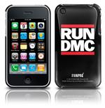 Etui iPhone 3G/3GS - Logo Run Dmc. Produit officiel Emi Music.