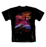 T Shirt New Wall Pink Floyd. Produit officiel Emi Music.
