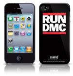 Coque Skin iPhone 4G Run Dmc - Logo. Produit officiel Emi Music