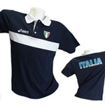 Italie Volley-ball Polo Fun Bleu