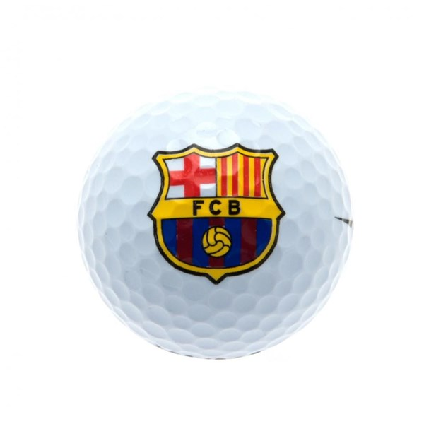 FC Barcelone Lot de 3 Balles de Golf