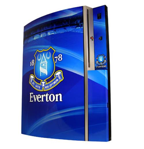 Everton FC Skin Playstation 3
