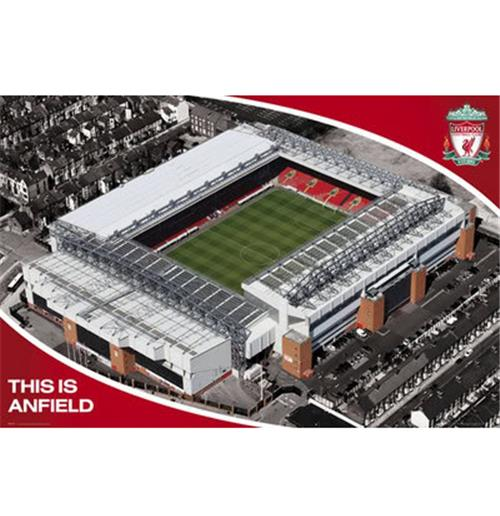 Poster Liverpool FC Stade Anfield