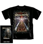T-shirt Megadeth End Game. Produit officiel Emi Music