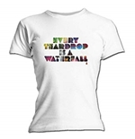 T-shirt Coldplay Every Teardrop. Produit officiel Emi Music