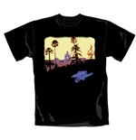 T-shirt The Eagles Hotel California. Produit officiel Emi Music