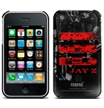 Coque Iphone 3G/3GS Jay Z - Red Logo. Sous licence officielle Emi Music
