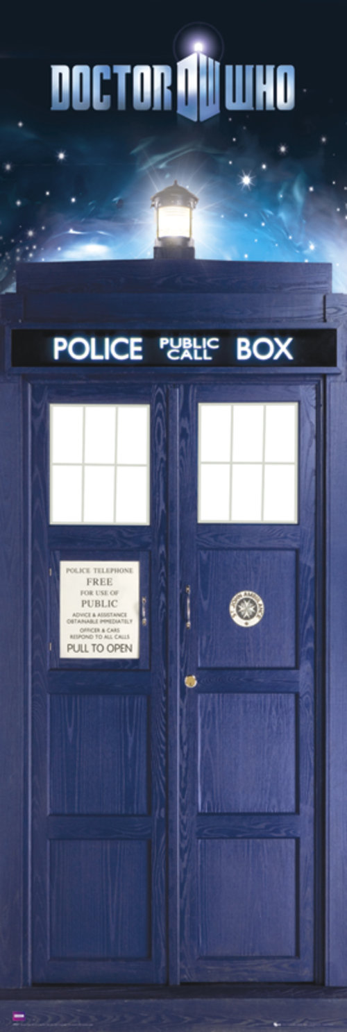 Poster Doctor Who Tardis Door